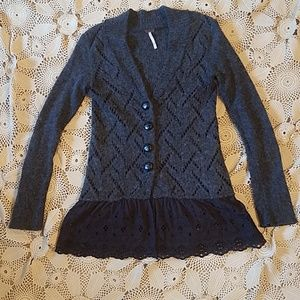 Free People cardigan
